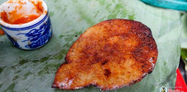 Cá bò khô nướng