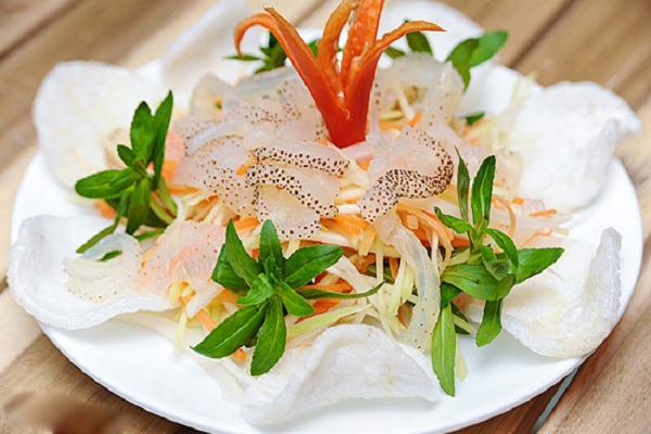 Nộm sứa Hải Hoà