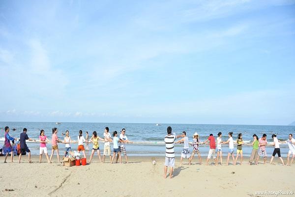 Trải nghiệm biển Hải Hòa