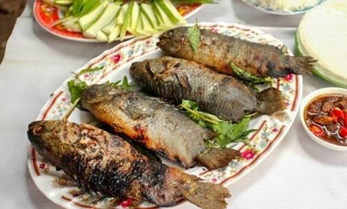 Đặc sản cá rô Đầm Sét